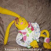 Куклы и игрушки ручной работы. Ярмарка Мастеров - ручная работа Зайка Зоя. Handmade.