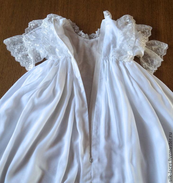 Платье крестильное длинное