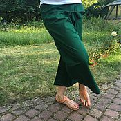 Одежда ручной работы. Ярмарка Мастеров - ручная работа Тайские штаны рыбака. Handmade.