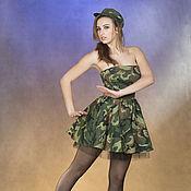 Одежда ручной работы. Ярмарка Мастеров - ручная работа Карнавальный костюм Разведчица. Handmade.