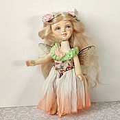 Ball-jointed doll handmade. Livemaster - original item Jointed doll: Flower fairy .. Handmade.