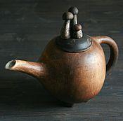 Посуда ручной работы. Ярмарка Мастеров - ручная работа Чайник грибной. Большой.. Handmade.
