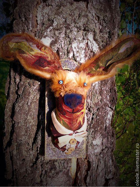 Коллекционные куклы ручной работы. Ярмарка Мастеров - ручная работа. Купить Игрушка интерьерная- Sweet Bunny. Handmade. Оберег
