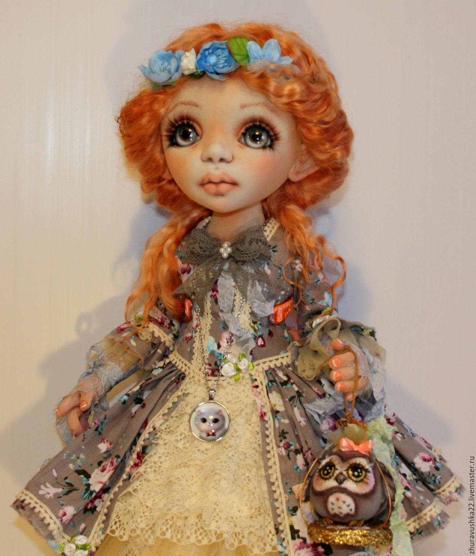 doll textile interior. Little Sophie. reserve, Dolls, Pskov,  Фото №1