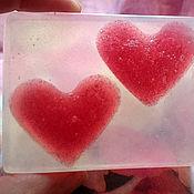 Косметика ручной работы. Ярмарка Мастеров - ручная работа Мыло Влюбленные сердца. Handmade.