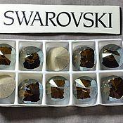 Материалы для творчества handmade. Livemaster - original item 1 PCs 12mm Rivoli Bronze Shade 001BRSH Swarovski Rivoli Swarovski. Handmade.