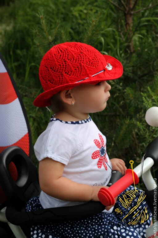 Обучающие материалы ручной работы. Ярмарка Мастеров - ручная работа. Купить МК-описание шляпки спицами Ассоль. Handmade.