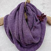 Аксессуары handmade. Livemaster - original item Snudy: Purple haze. Handmade.