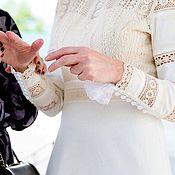 Одежда ручной работы. Ярмарка Мастеров - ручная работа Подвенечное платье Ирина. Handmade.