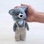 Куклы и игрушки handmade. Livemaster - original item Crochet toy dog puppy Toshka. Handmade.