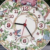 Винтаж handmade. Livemaster - original item Wall clock