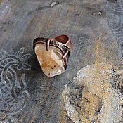 Украшения ручной работы. Ярмарка Мастеров - ручная работа ОСЕНЬ  кольцо медно-латунное с цитрином, купить кольцо с цитрином. Handmade.