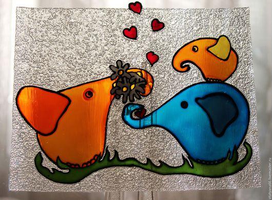 Тарелки ручной работы. Ярмарка Мастеров - ручная работа. Купить Тарелка из серии Забавные зверюги №3. Handmade. Комбинированный, тарелка