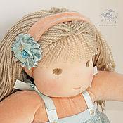 Куклы и игрушки ручной работы. Ярмарка Мастеров - ручная работа вальдорфская кукла Кареглазка, 37 см.. Handmade.