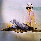 Картины и панно ручной работы. Ярмарка Мастеров - ручная работа Акварелька с фотографии. Handmade.