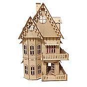 Кукольные домики ручной работы. Ярмарка Мастеров - ручная работа Кукольные домики: Кукольный домик + 6 комплектов мебели. Handmade.