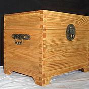 Для дома и интерьера handmade. Livemaster - original item Box with wooden lid. Handmade.