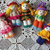 Куклы и игрушки ручной работы. Ярмарка Мастеров - ручная работа куколка - сувенир. Handmade.