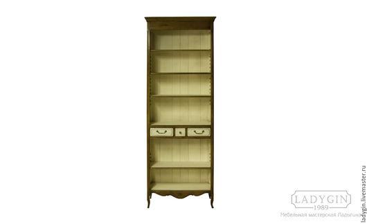 Мебель ручной работы. Ярмарка Мастеров - ручная работа. Купить Деревянная библиотека 230 см. узкая в стиле прованс. Handmade.