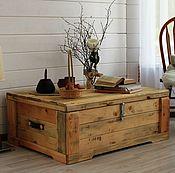 Столы ручной работы. Ярмарка Мастеров - ручная работа Ларь деревянный. Handmade.