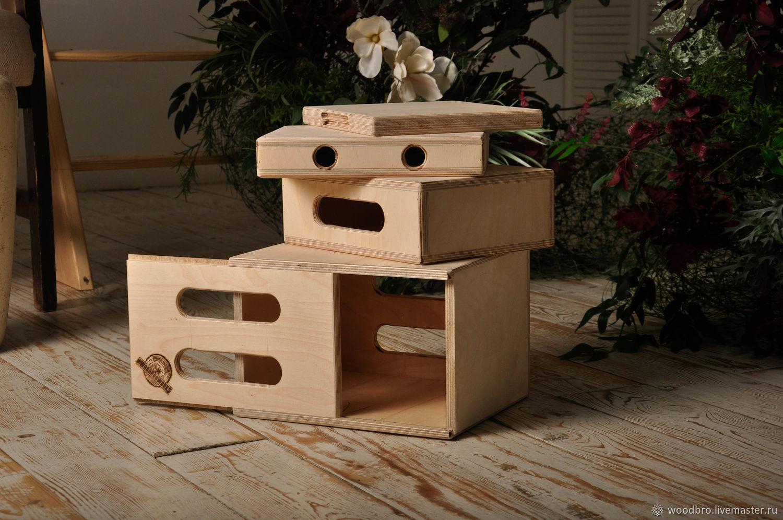 Комплект Эпл боксов половинка-Half Apple Box, Фото, Москва,  Фото №1