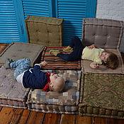 Для дома и интерьера ручной работы. Ярмарка Мастеров - ручная работа Пуфы для детской. Handmade.