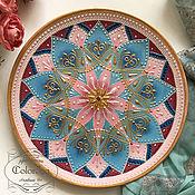 Тарелки ручной работы. Ярмарка Мастеров - ручная работа Интерьерная тарелка. Handmade.