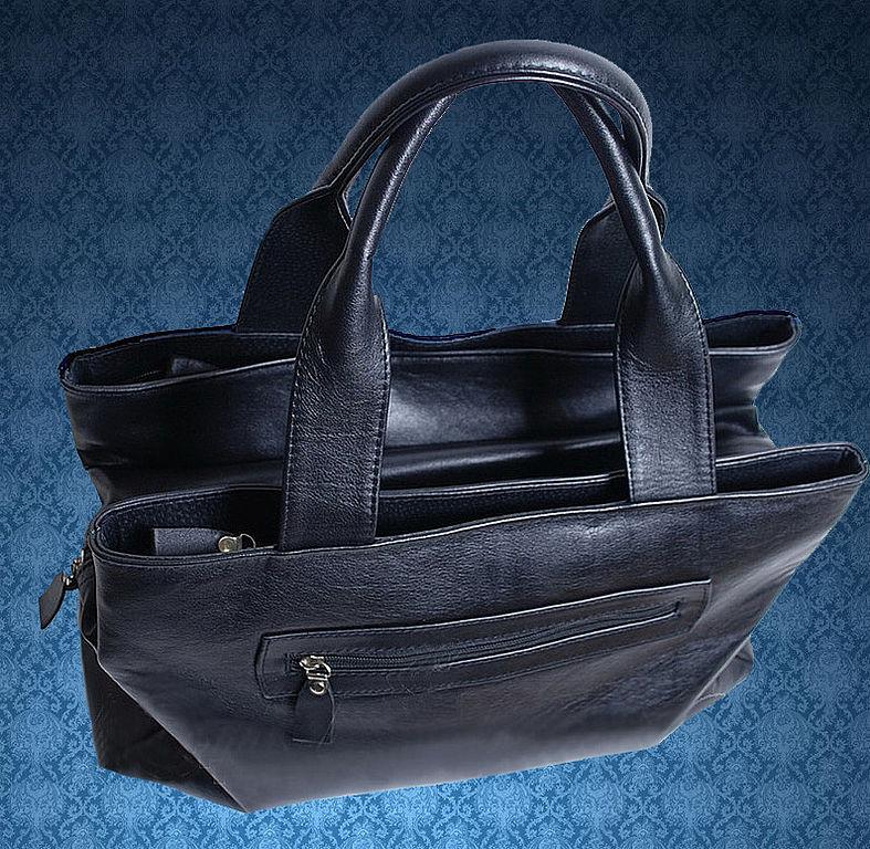Какая у вас мужская сумка