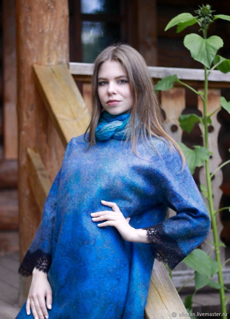 Felted dress 'Temptation', Dresses, Moscow,  Фото №1