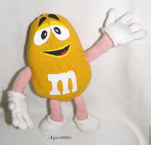 Вязание ручной работы. Ярмарка Мастеров - ручная работа. Купить Масте-класс по вязанию m&m s желтый. Handmade. Желтый