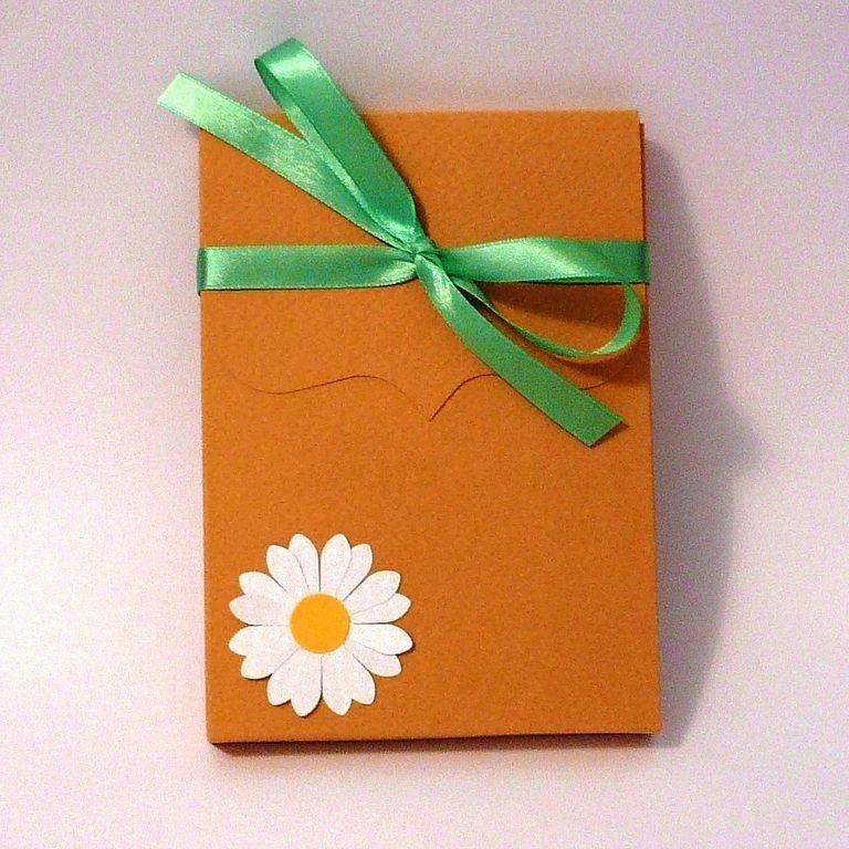 Прямоугольная коробочка для подарка