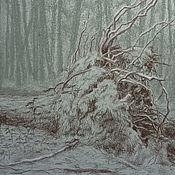 Картины и панно handmade. Livemaster - original item Landscape After the hurricane. Handmade.