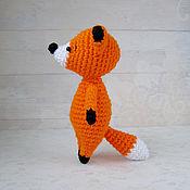 Куклы и игрушки ручной работы. Ярмарка Мастеров - ручная работа Рыжий лисенок - вязаная игрушка амигуруми. Handmade.