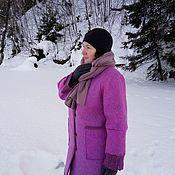 "Пальто ручной работы. Ярмарка Мастеров - ручная работа Валяное пальто ""Люблю Париж"". Handmade."