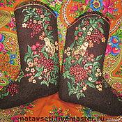 """Обувь ручной работы. Ярмарка Мастеров - ручная работа Валенки """"Рябинушка"""". Handmade."""