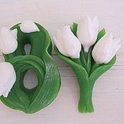 """Косметика ручной работы. Ярмарка Мастеров - ручная работа Мыло """" Тюльпаны"""". Handmade."""