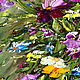Oil painting Bouquet of freshness. Pictures. Zabaikalie. My Livemaster. Фото №5