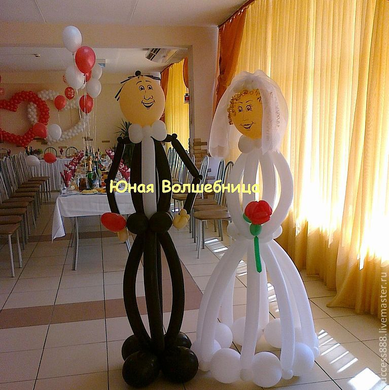 Как самим сделать украшения для свадьбы