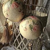 """Для дома и интерьера ручной работы. Ярмарка Мастеров - ручная работа """"Murmure Shabby"""" большие интерьерные украшения.. Handmade."""