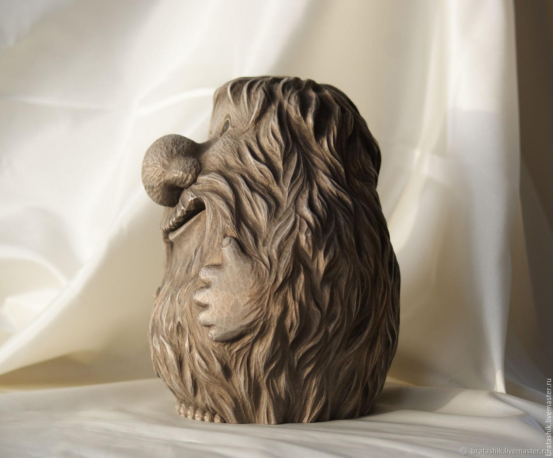 Резьба по дереву скульптура картинки
