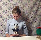 Куклы и игрушки handmade. Livemaster - original item Panda. Toy cuddles)). Handmade.