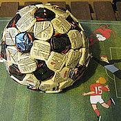 Подарки к праздникам ручной работы. Ярмарка Мастеров - ручная работа Мяч из конфет. Handmade.