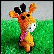 Куклы и игрушки ручной работы. Ярмарка Мастеров - ручная работа Солнечный жирафик. Handmade.