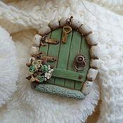 Украшения handmade. Livemaster - original item Brooch made of polymer clay on a visit to a fairy tale. Handmade.