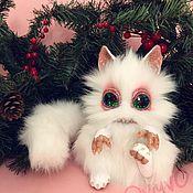 Куклы и игрушки ручной работы. Ярмарка Мастеров - ручная работа Грызунчик. Снежный зверёк. Snowflake. Handmade.