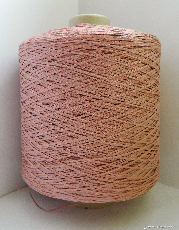 Вязание ручной работы. Ярмарка Мастеров - ручная работа. Купить Пряжа Linea Piu PAPIRO (100% хлопок). Handmade. Розовый