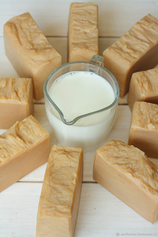 1 кг. молочного мыла. Натуральное мыло, Мыло, Тольятти,  Фото №1