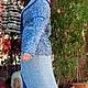 Верхняя одежда ручной работы. Вязаное шелковое пальто Бриз. Оксана Донская (fashionfur-bg). Ярмарка Мастеров. Летнее пальто