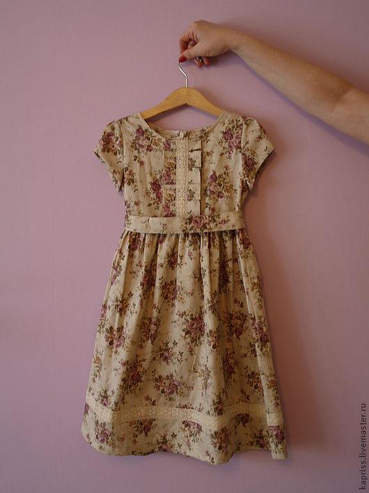 """Одежда для девочек, ручной работы. Ярмарка Мастеров - ручная работа. Купить Детское платье """"Весна""""(2). Handmade. Цветочный, платье для выпускного"""