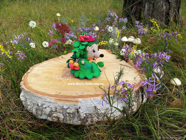 """Рябина! Коллекция """"Цветочные Ёжики!"""", Мягкие игрушки, Новосибирск,  Фото №1"""